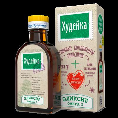 Масло льняное ХУДЕЙКА 200мл (Компас Здоровья)