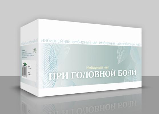 Имбирный чай ПРИ ГОЛОВНОЙ БОЛИ 20ф/п (Хорст)