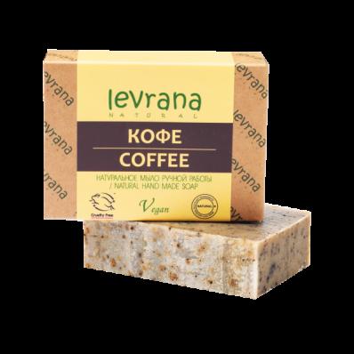 Мыло натуральное КОФЕ 100гр (Levrana)