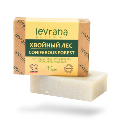Мыло натуральное ХВОЙНЫЙ ЛЕС 100гр (Levrana)