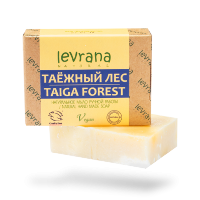 Мыло натуральное ТАЕЖНЫЙ ЛЕС 100гр (Levrana)