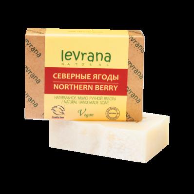 Мыло натуральное СЕВЕРНЫЕ ЯГОДЫ 100гр (Levrana)