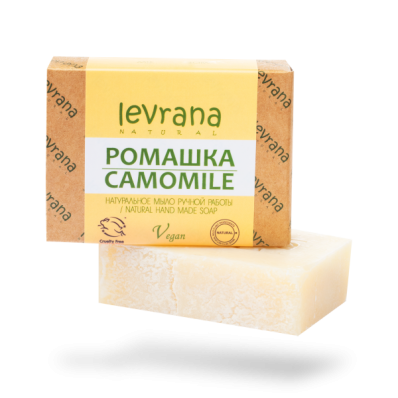 Мыло натуральное РОМАШКА 100гр ( Levrana)