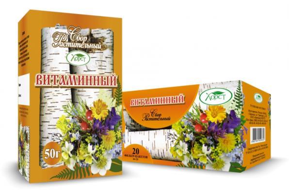 Сбор растительный ФИТОВИТАНОЛ общеукрепляющий 50гр (Хорст)